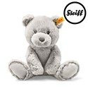 Steiff Soft Cuddly Friends Bearzy Ted Grey 28cm