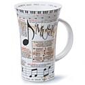 Dunoon Music Glencoe Shape Mug (500ml)