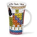 Dunoon Periodic Tables Glencoe Shape Mug (500ml)