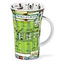 Dunoon World Of Cricket Glencoe Shape Mug (500ml)