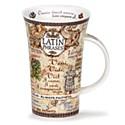Dunoon Latin Phrases Glencoe Shape Mug (500ml)