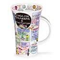 Dunoon English Grammar Glencoe Shape Mug (500ml)