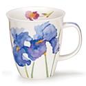 Dunoon Flora Irises Nevis Shape Mug (480ml)