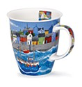 Dunoon Ahoy Harbour Nevis Shape Mug (480ml)
