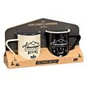 Gentlemen's Hardware Enamel Mugs Set Of 2