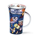 Dunoon Space Exploration Glencoe Shape Mug (500ml)