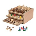 Harvey Makin Games - 7-in-1 Wooden Game Set