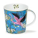 Dunoon Aisha Blue Lomond Shape Mug (320ml)
