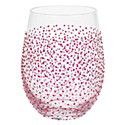 Sunny By Sue Stemless Glass - Crimson Silver