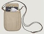 RFID Blocker Neck Wallet