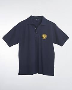Polo Shirt/Navy/Logo/3X
