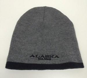 Hat/Adult/Knit/Charcoal/Blk