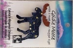 Pin/Goldie Moose/AK Flag