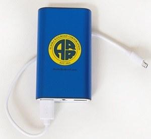Batteries/Power Bank/Blue