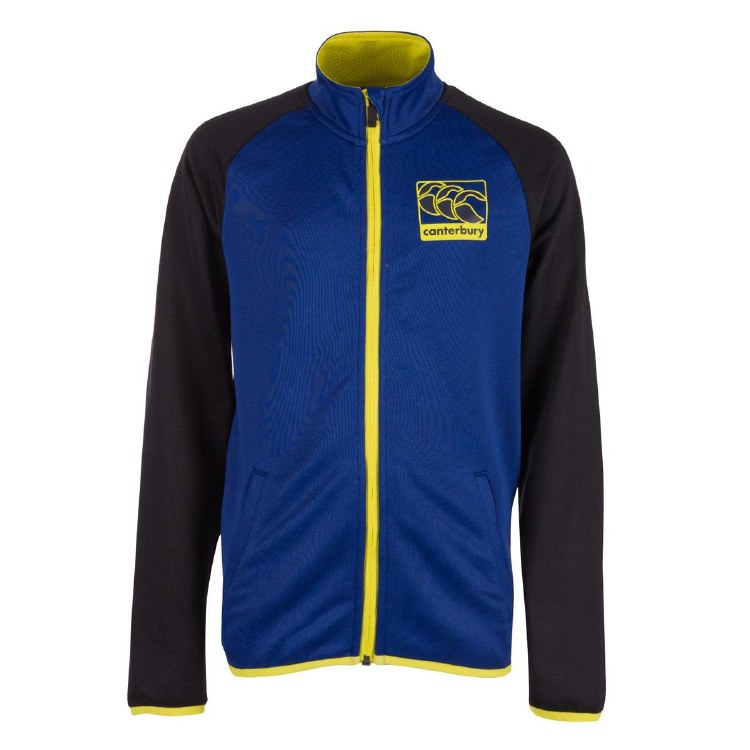 Boys Poly Full Zip Track Jacket