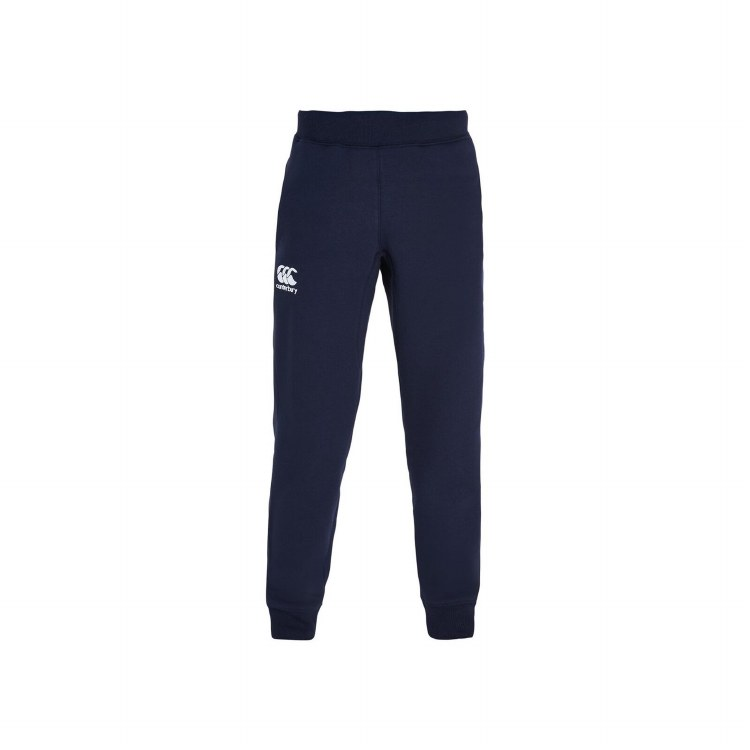 Fapered Cuffed Fleece Pant