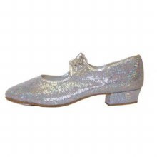 Hologram Tap Shoes Silver 11(29)