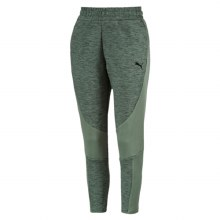 Ladies Evo Stripe Tapered Pants Green