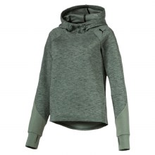 Evo Stripe Ladies  Hoody  Green