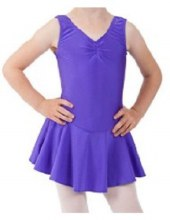 Nylon Lycra Dancing Dress