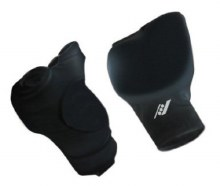 Martial Arts Fist Protectors Black Size L