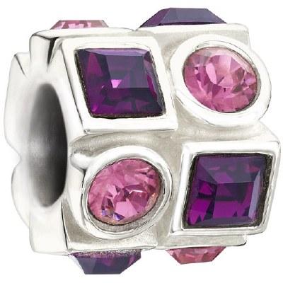 *Circle & Square Pink & Purple