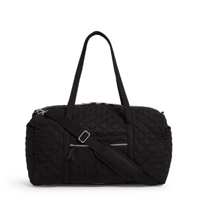 Iconic Large Travel Duffel Black