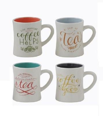 10oz Coffee & Tea Mugs