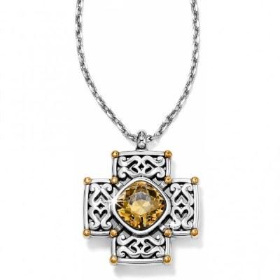 Deauville Cross Necklace