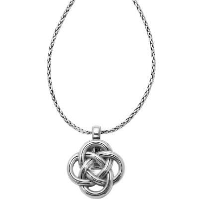 Interlok Badge Clip Necklace