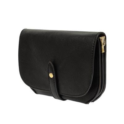 Harper Convertible Belt Bag Black