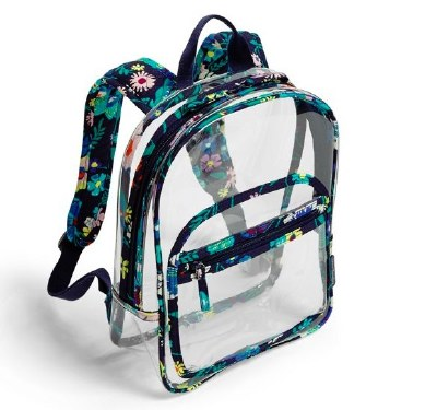 Clearly Colrful Stadium Backpack Moonlight Garden