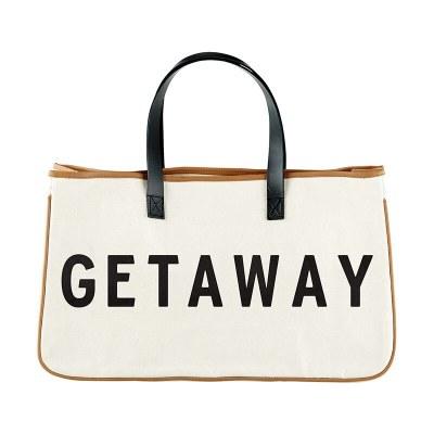 Canvas Tote: Getaway
