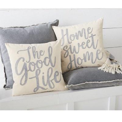 Home Sweet Home Felt Pillow