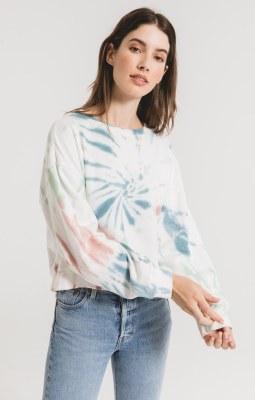 Multi Color Tie Dye Pullover