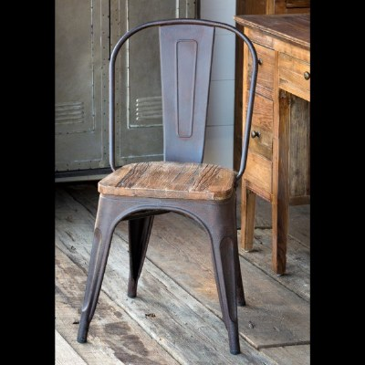 ElmTopped Bistro Chair