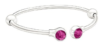 Crystal Bangle Accents