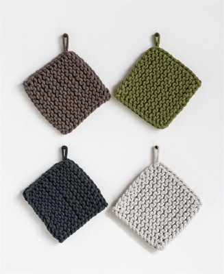 Crocheted Cotton Pot Holders