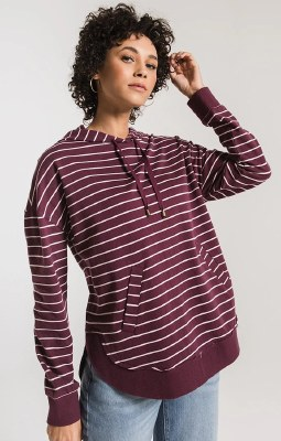 The Striped Dakota Pullover Large