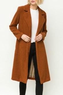 Shirling Fur Long Coat