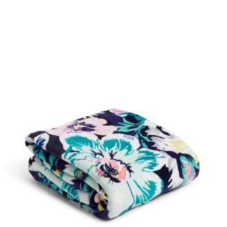 Plush Throw Blanket Garden Grove
