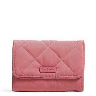RFID Riley Compact Wallet Strawberry Ice