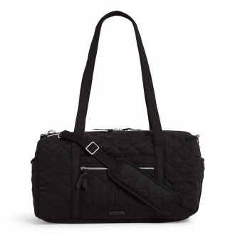 Iconic Small Travel Duffel Black