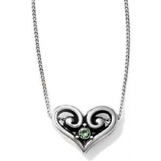Alcazar Heart Peridot Necklace
