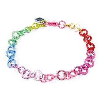 Charm It Rainbow Chain Bracelet