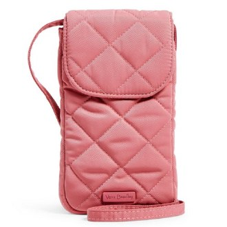 Carson RFID Deluxe Cellphone Crossbody Strawberry Ice