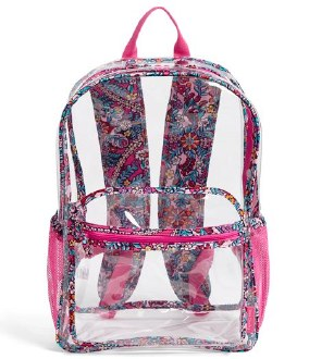 Clearly Colorful Large Backpack Kaleidoscope