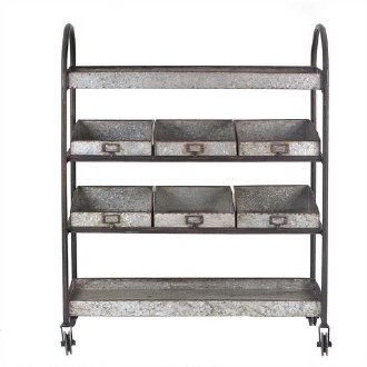 Metal Tier Cart