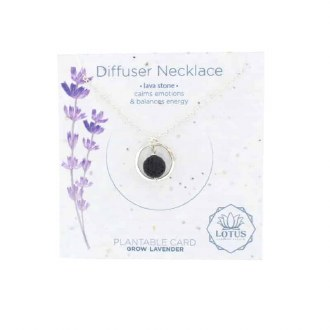 Diffuser Necklace-Circle