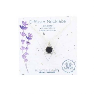 Diffuser Necklace-Triangle